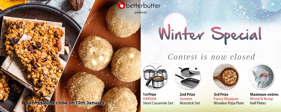 WINTER SPECIAL recipe contest